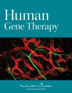 Omslag Human Gene Therapy